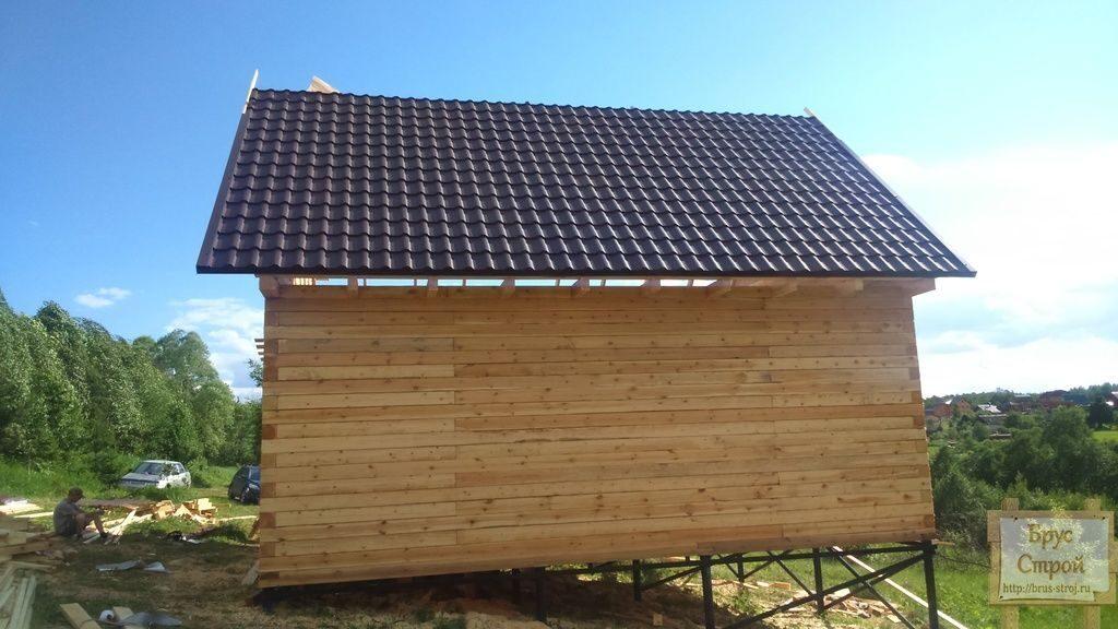 Поэтапное строительство веранды