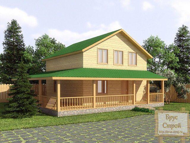 Отделка второго этажа деревянного дома своими руками