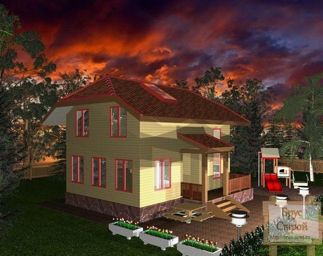 дома из бруса проекты и цены фото волгоград