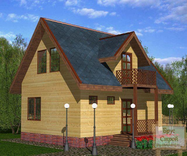 Проект дома с кукушками